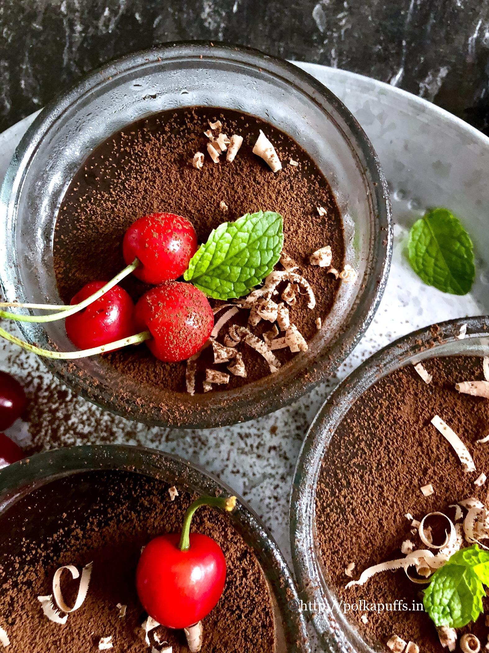 chocolate pudding 2