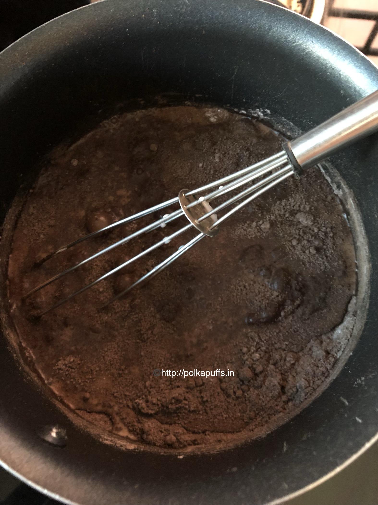 chocolate pudding prep2