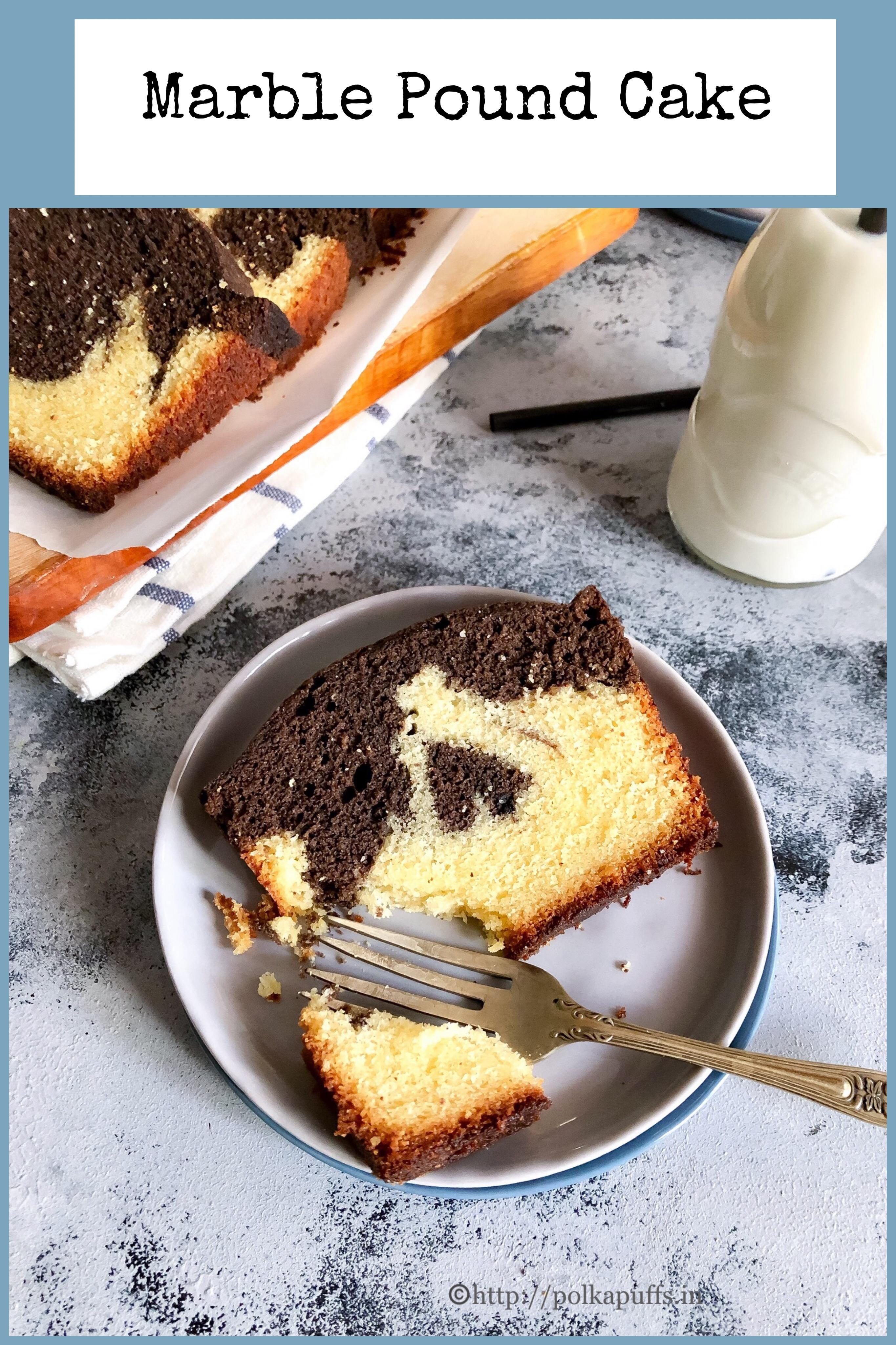 marble pound cake pinterest