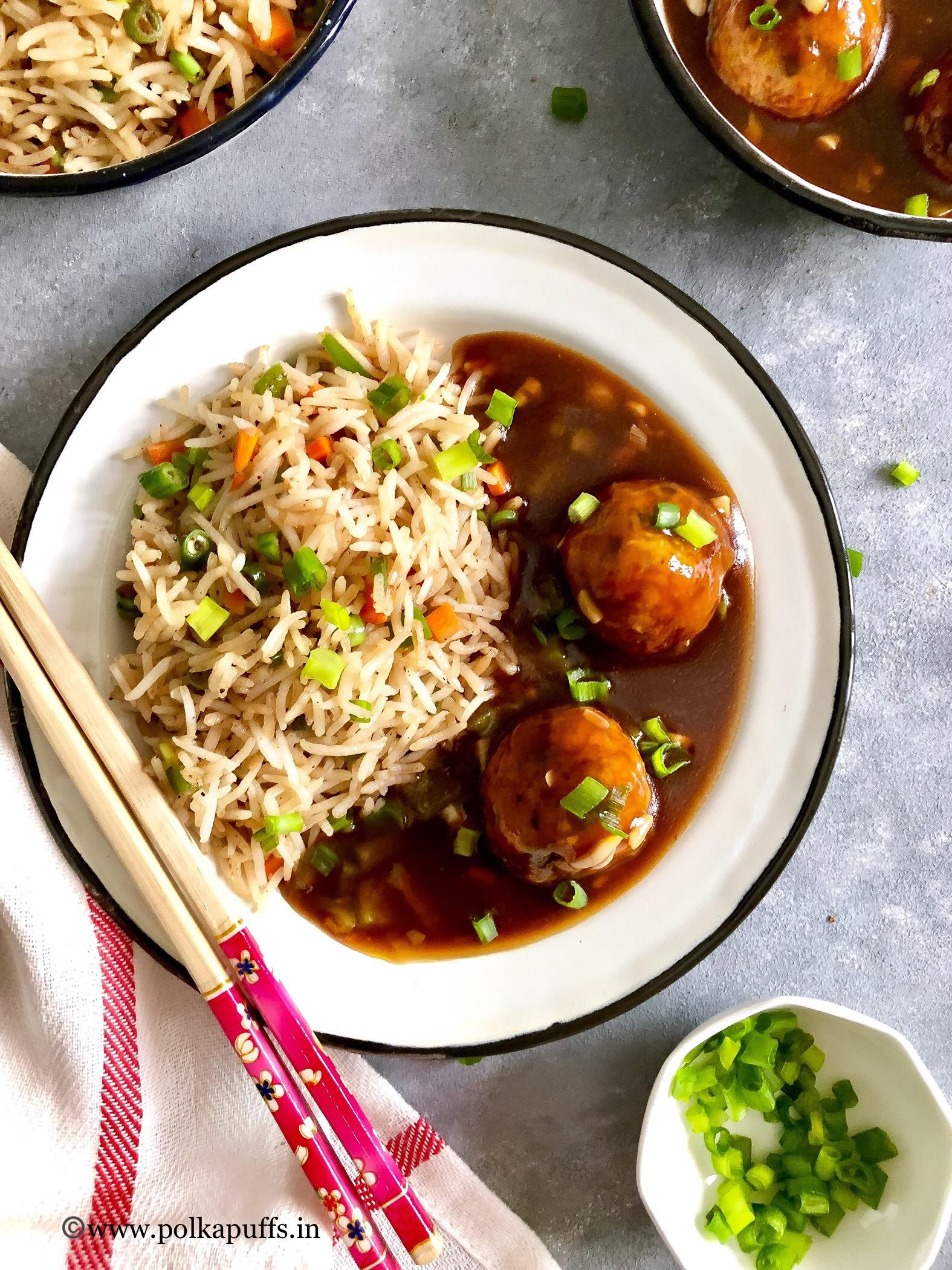 Veg manchurian fried rice final 5