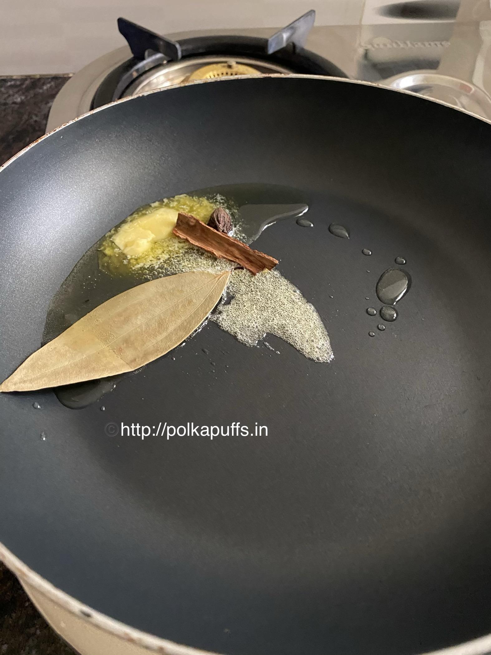 restaurant style shahi paneer prep 4