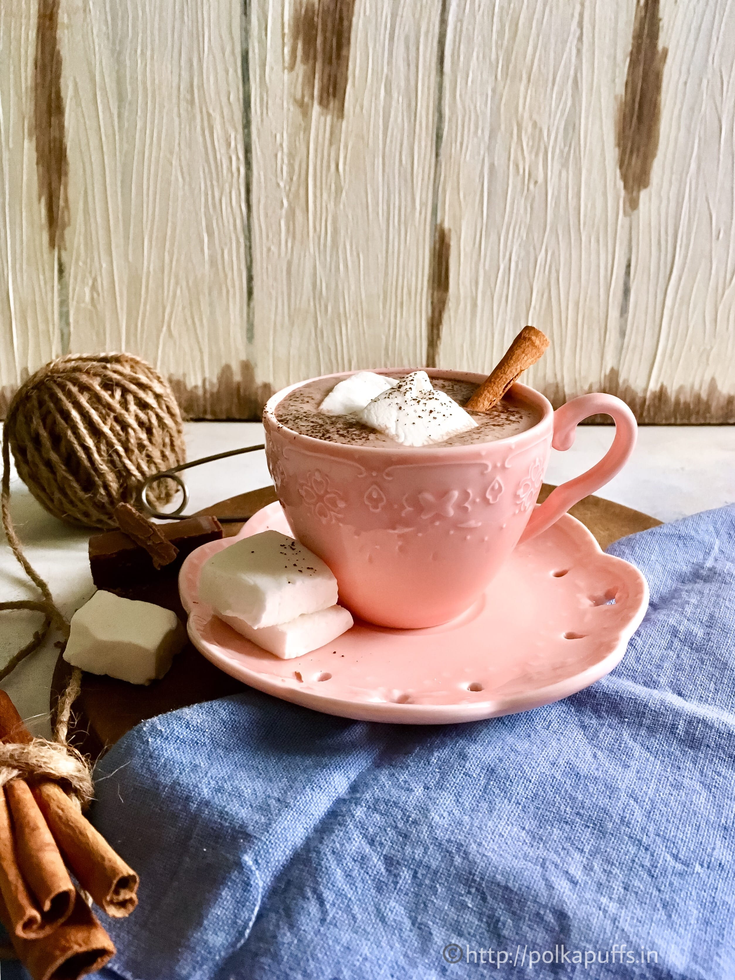 compressed hot chocolate