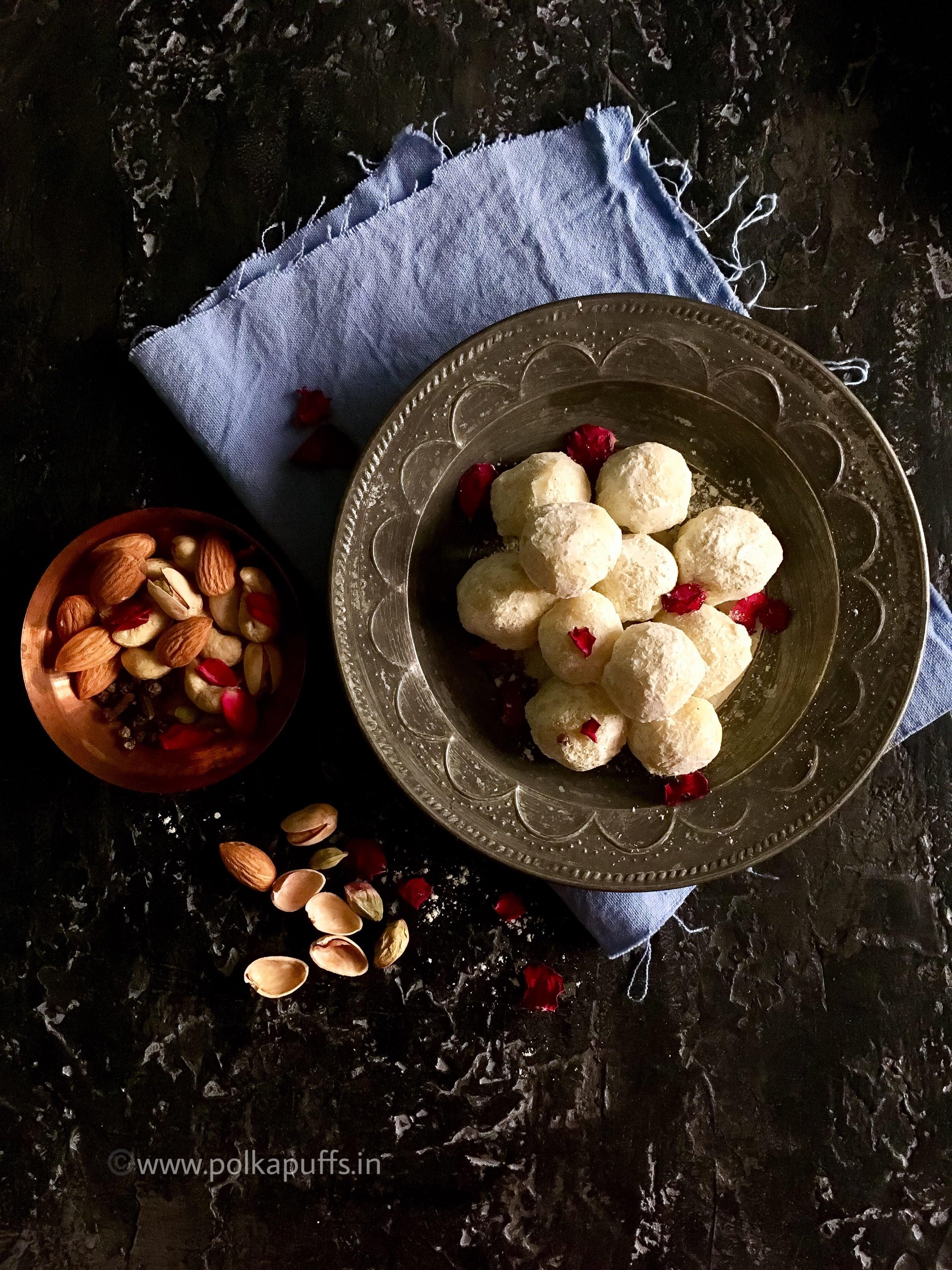 Compressed Thandaai Spiced White Chocolate Truffles