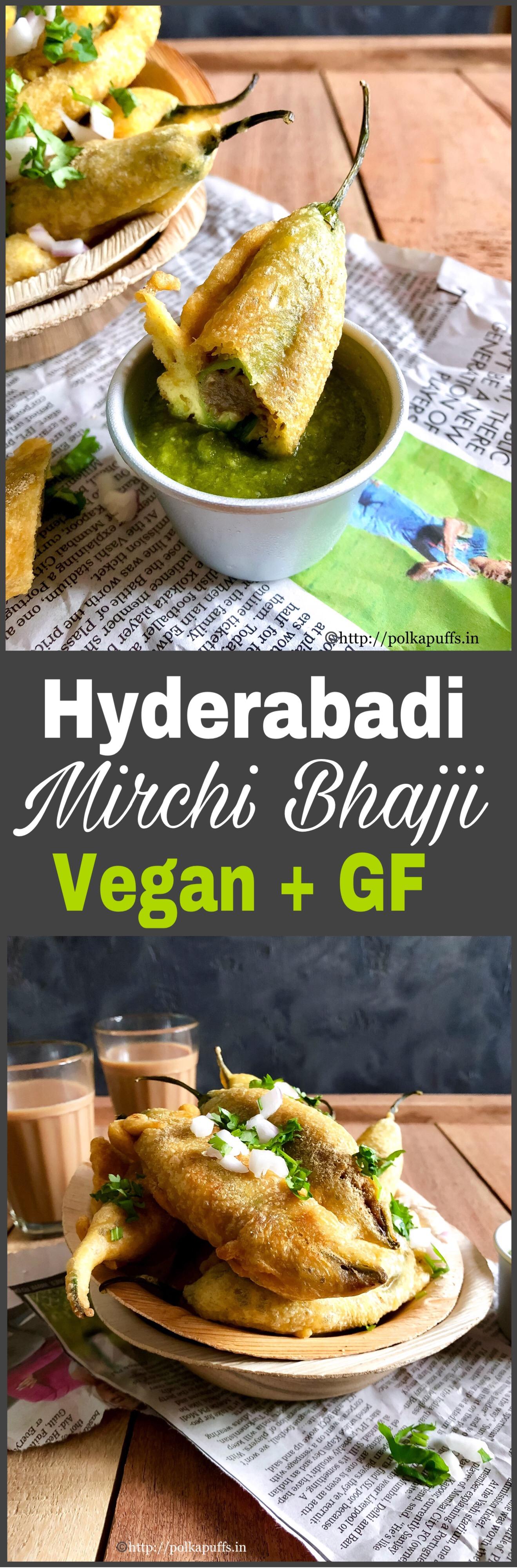 HYD mirchi bhajji pinterest