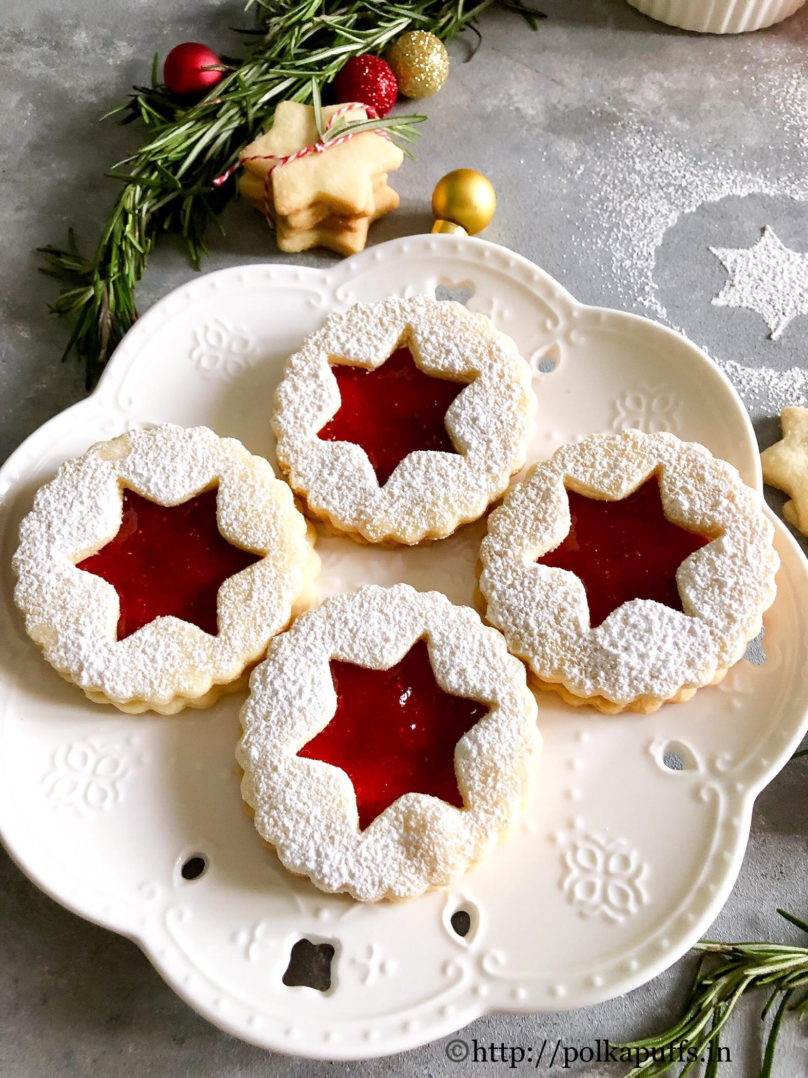 traditional linzer cookies final 2