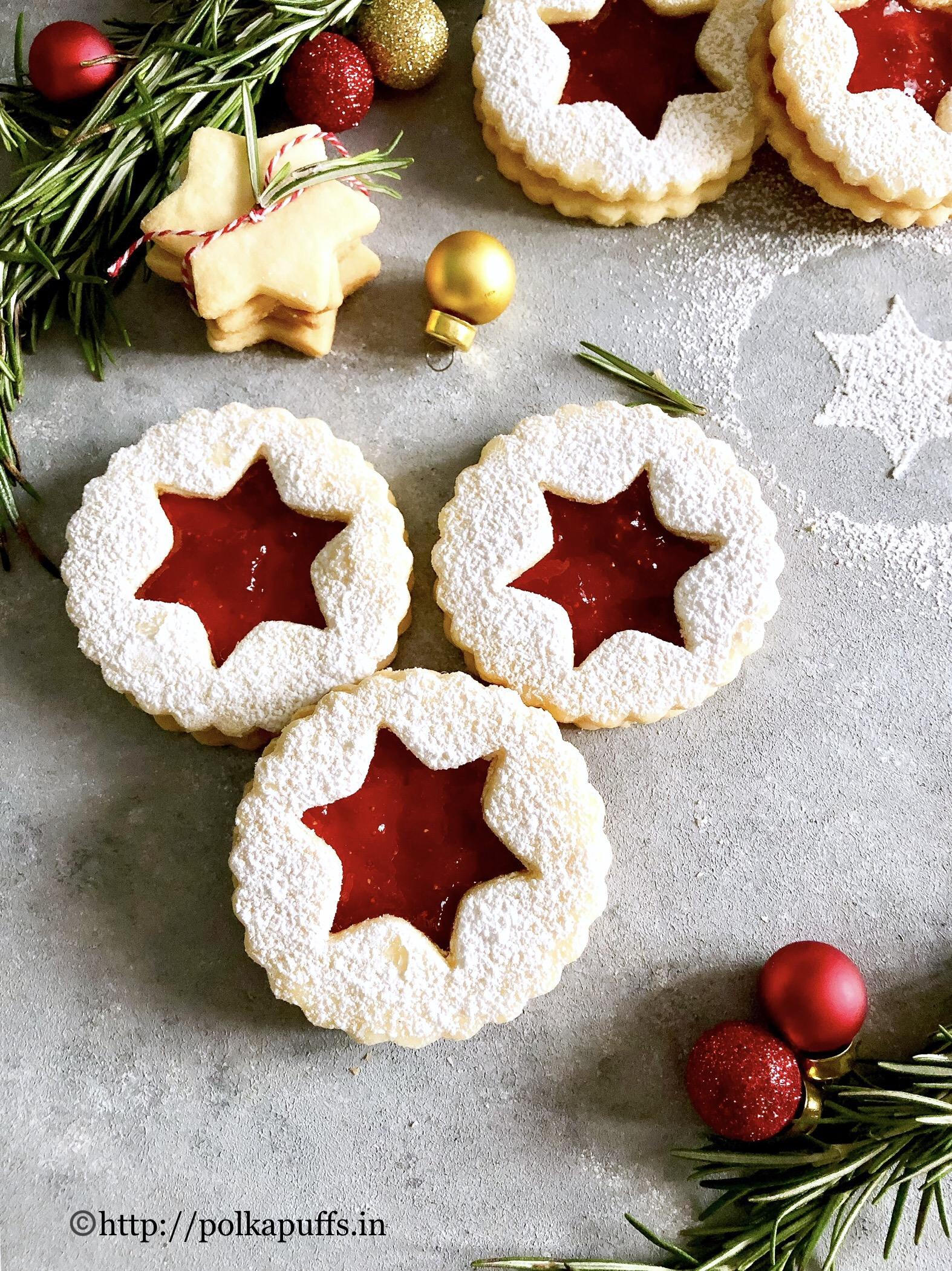 traditional linzer cookies final 4