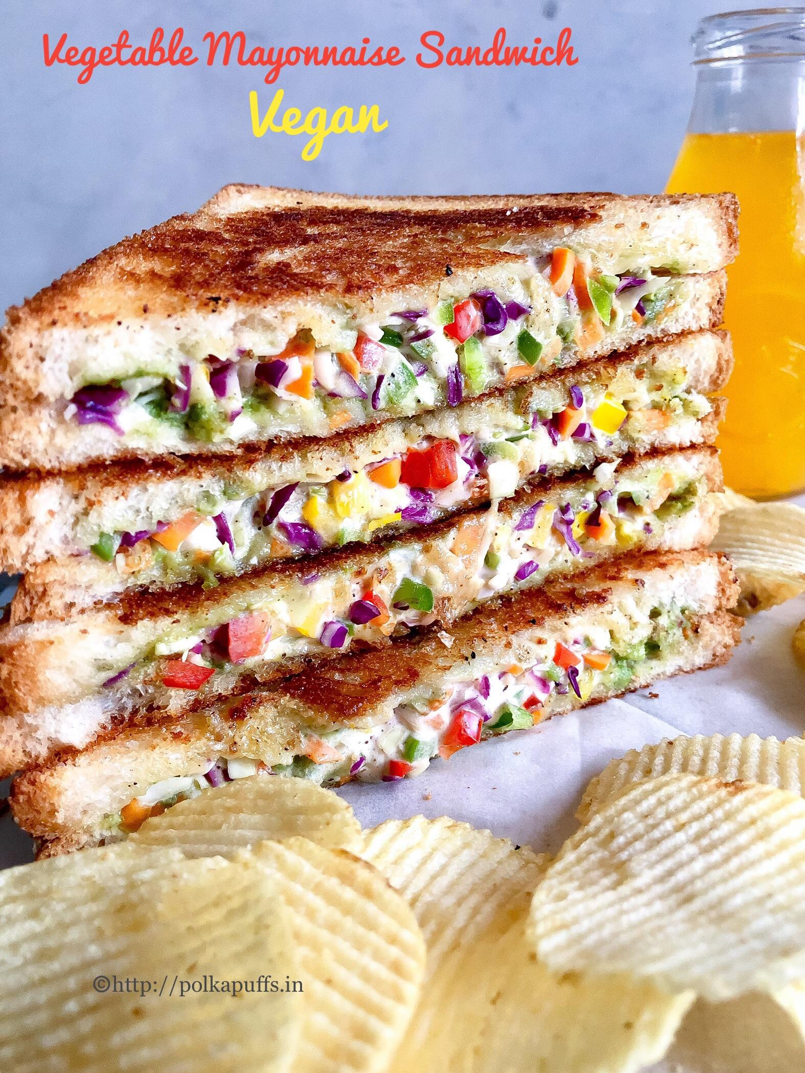veg mayo sandwich pinteest