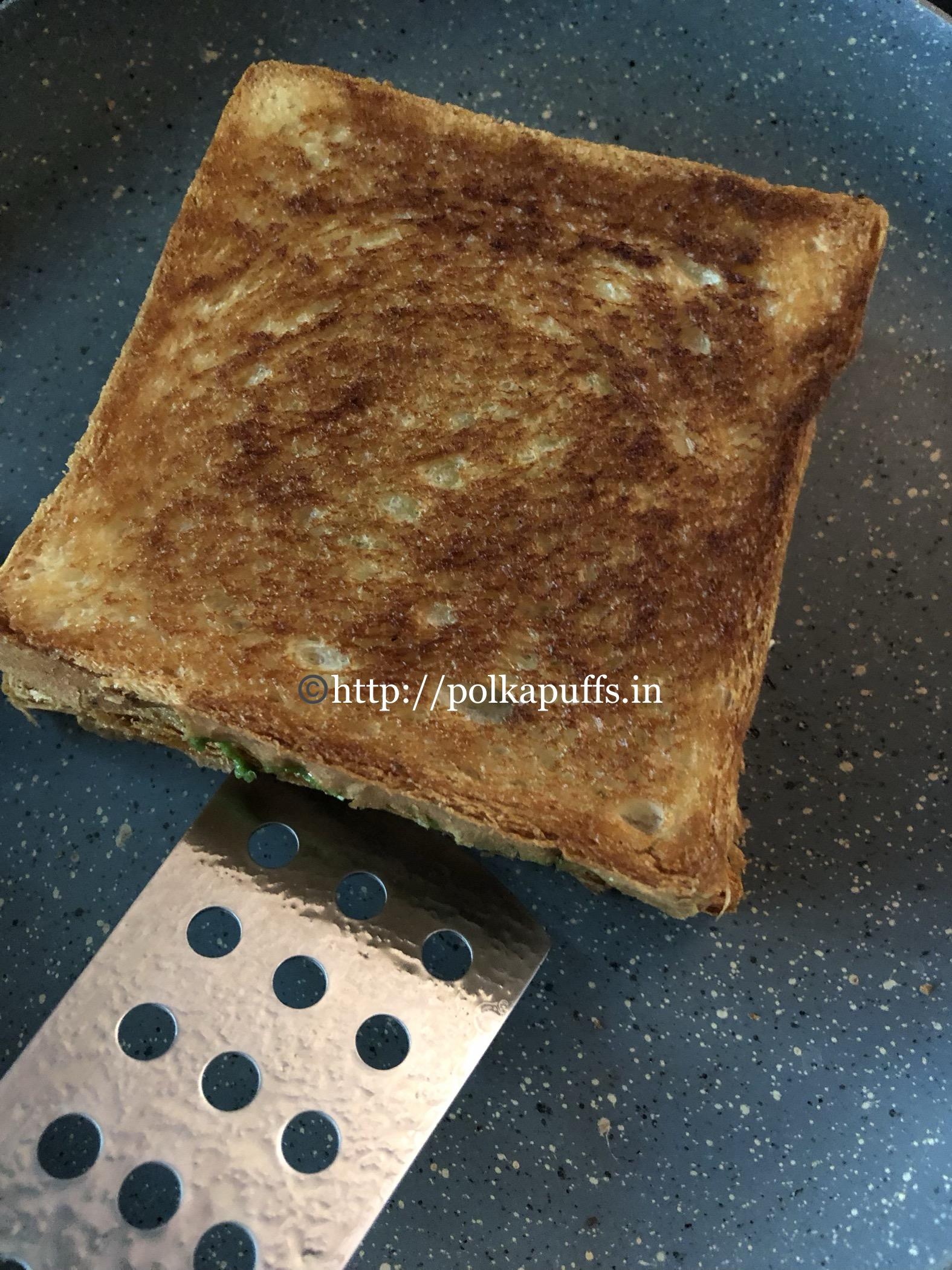 veg mayo sandwich prep 5