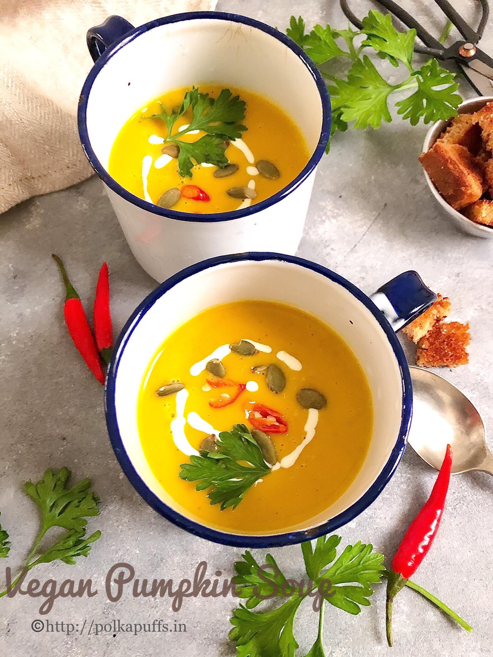 vegan pumpkin soup pinterest