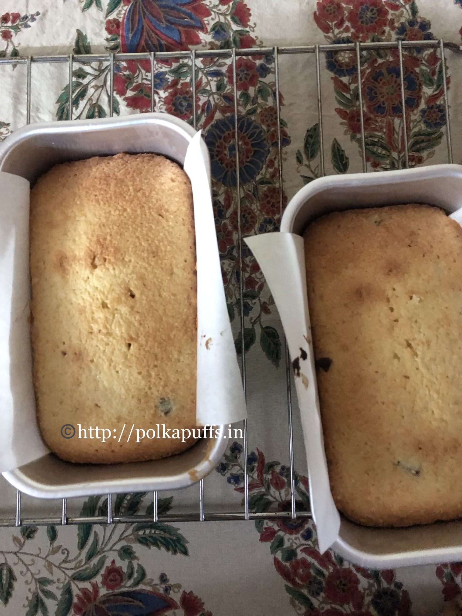 almond and cranberry loaf cake prep 4