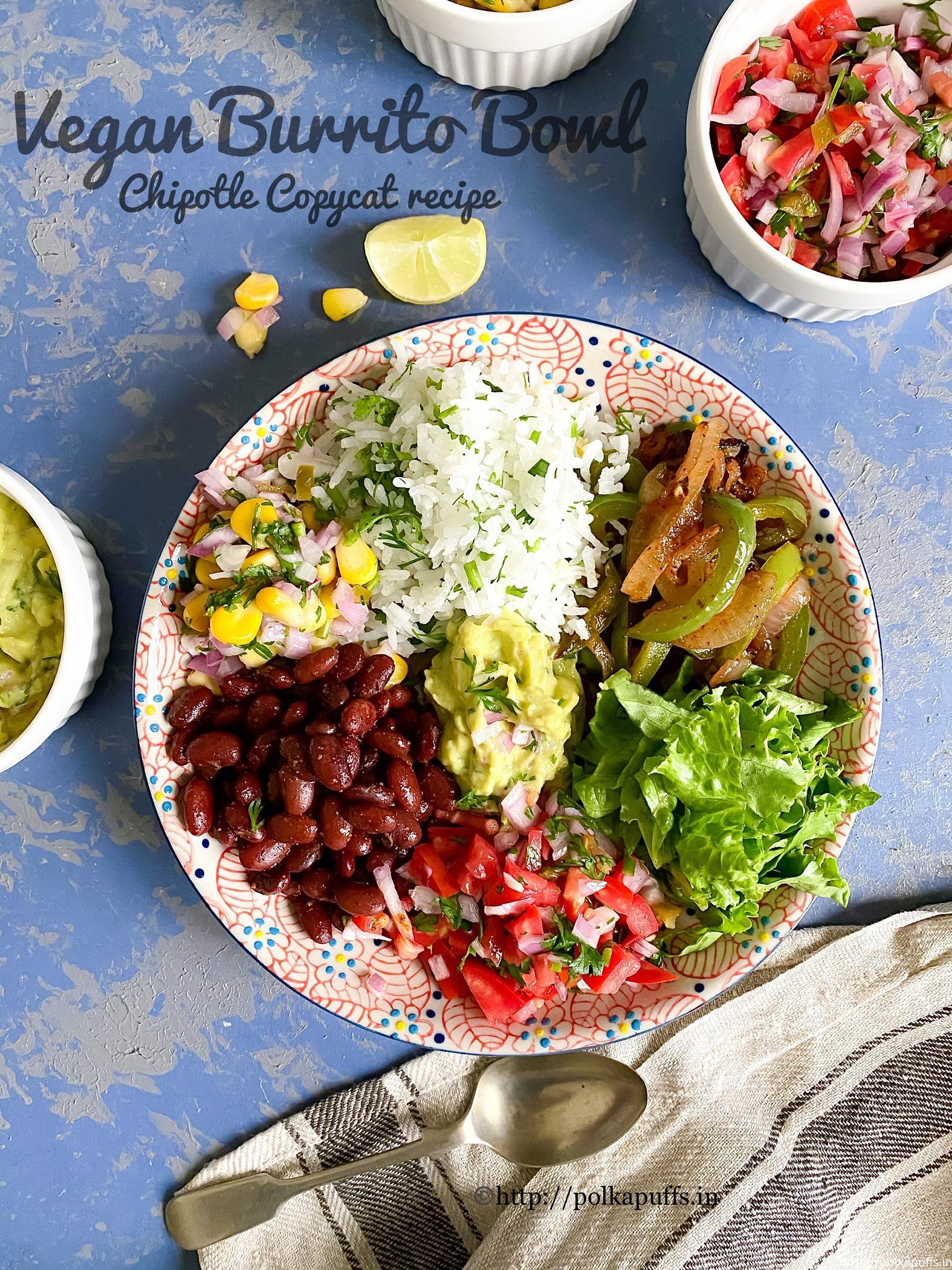 Chipotle Copycat Burrito Bowls pinterest