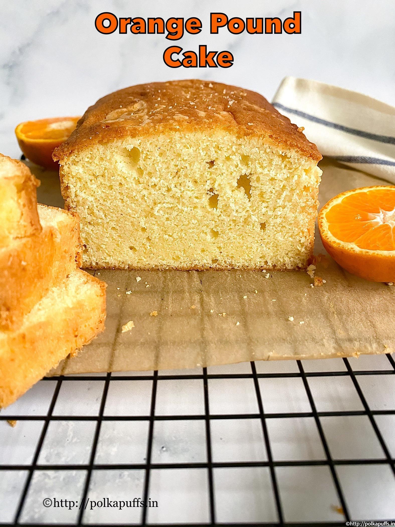orange pound cake pinterest