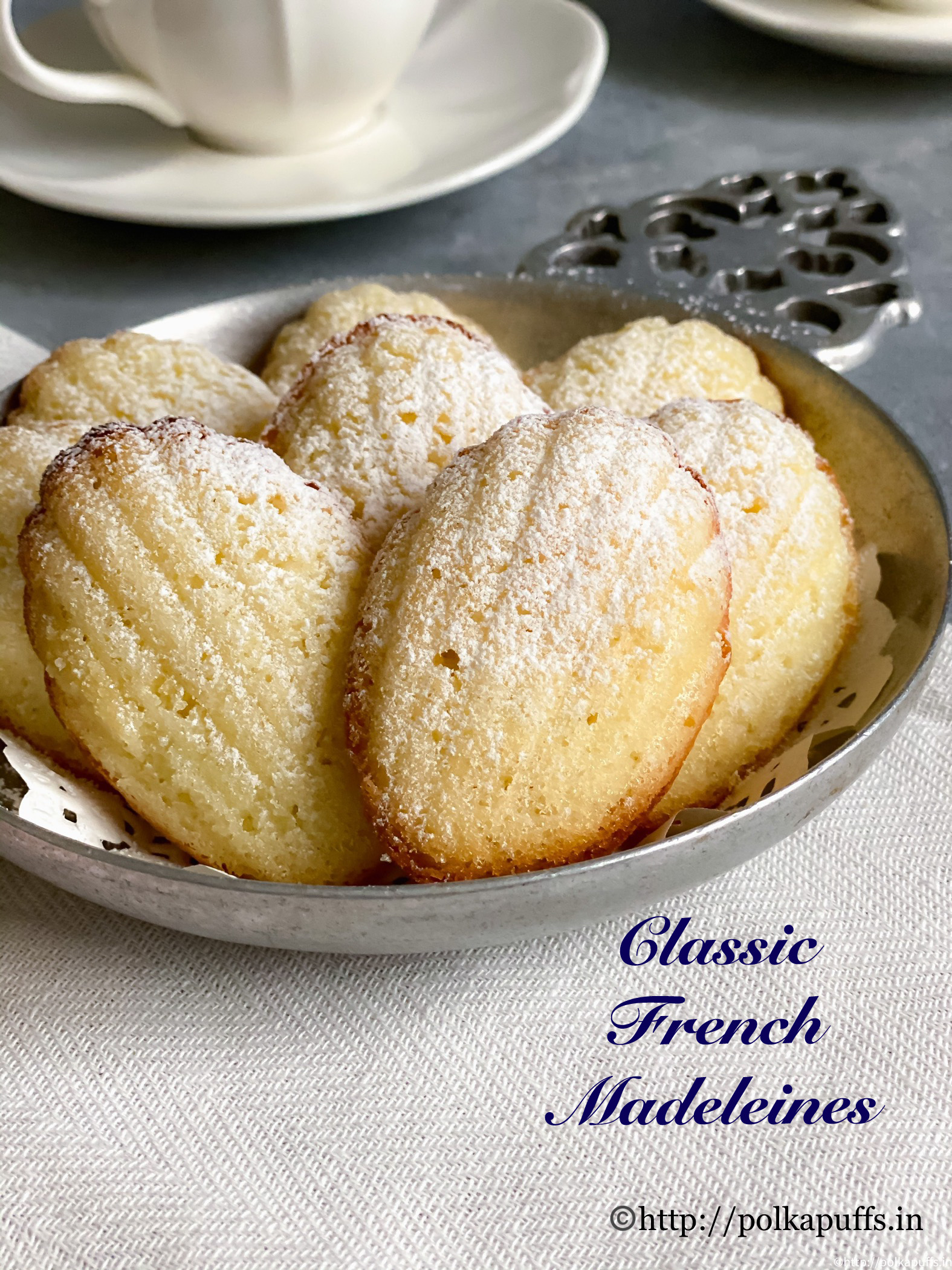 Classic french madeleines pinterest