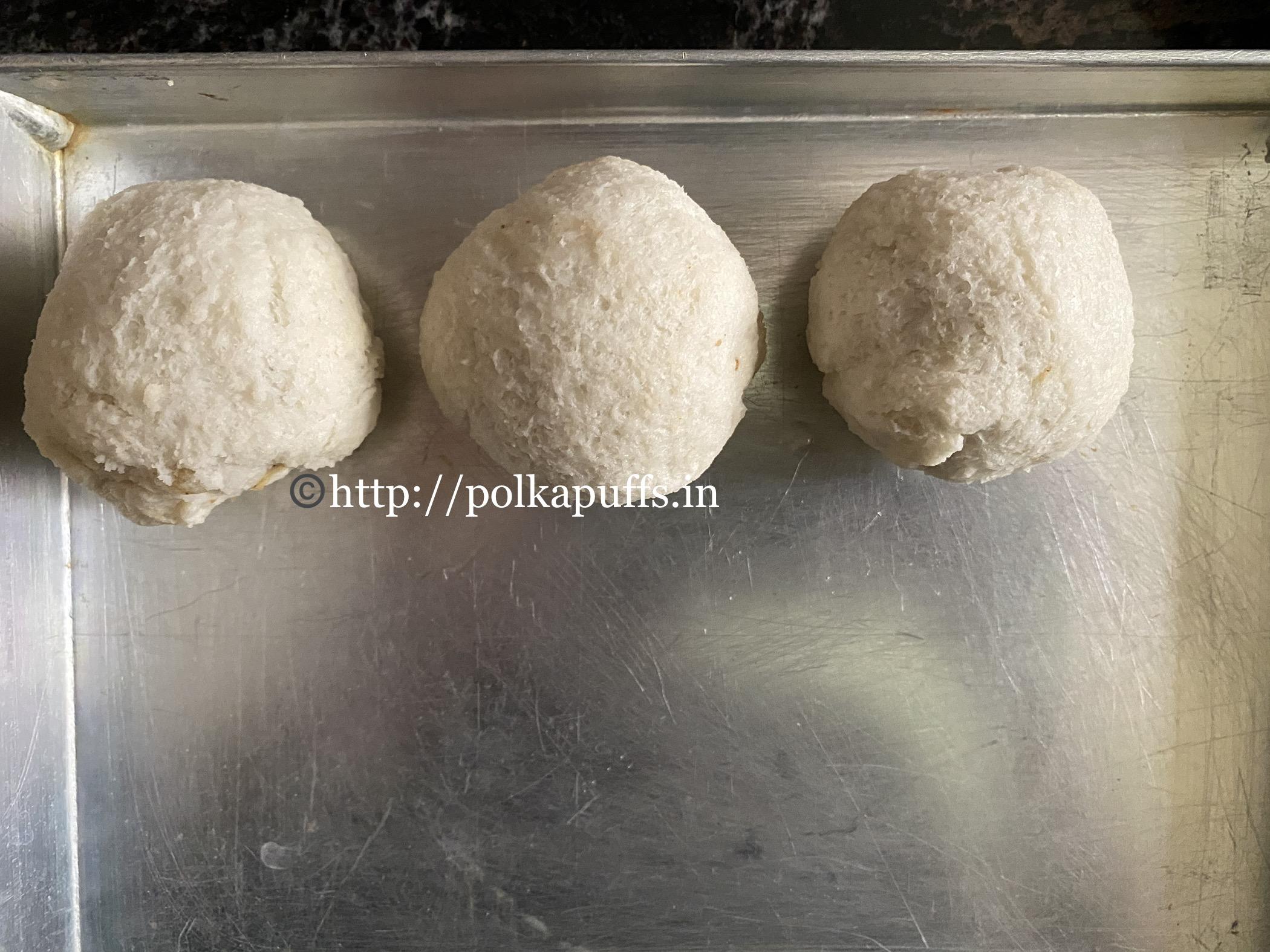 Bread Rolls vegan prep 2