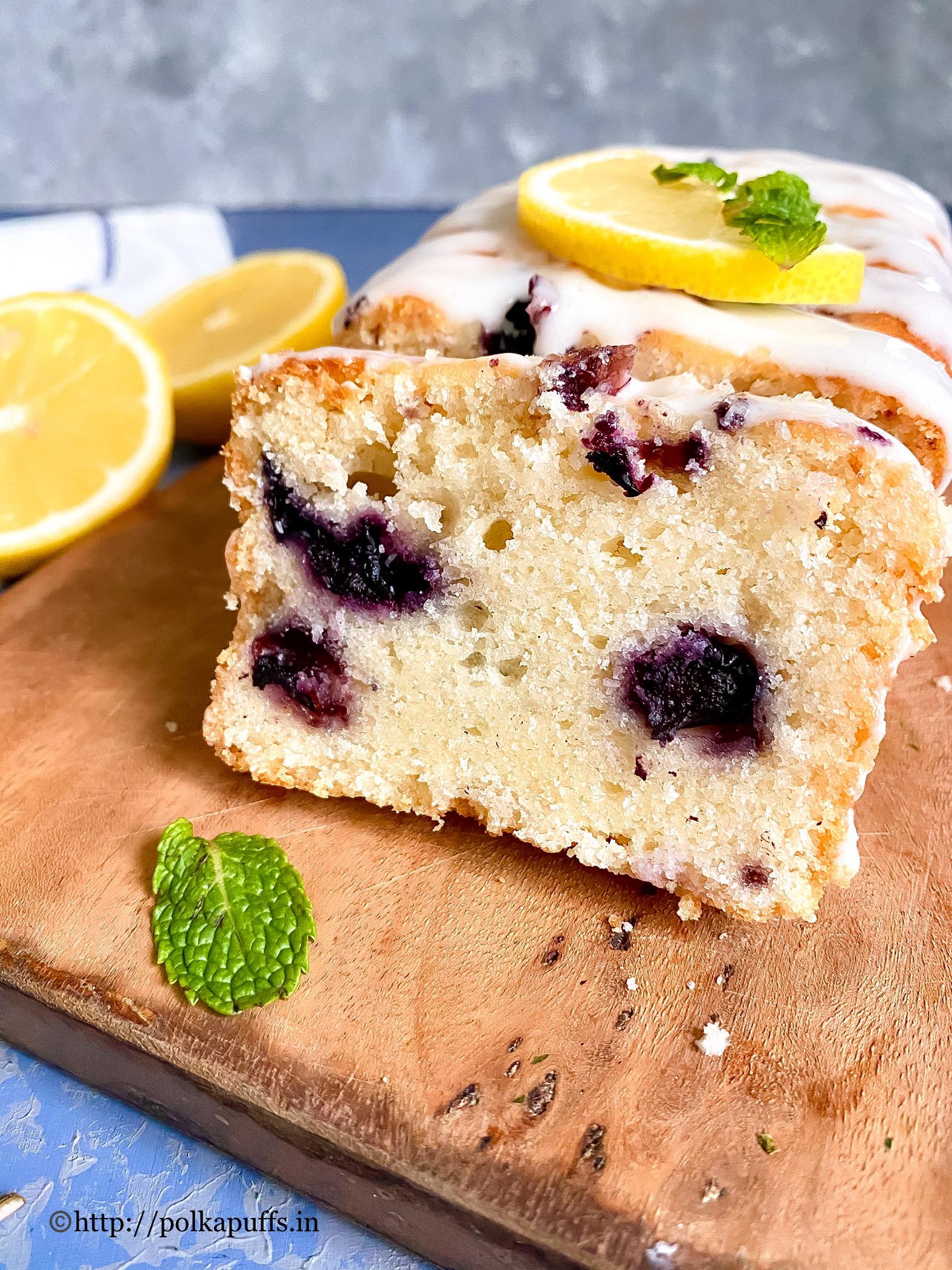 Eggless Lemon Blueberry Cake final 2