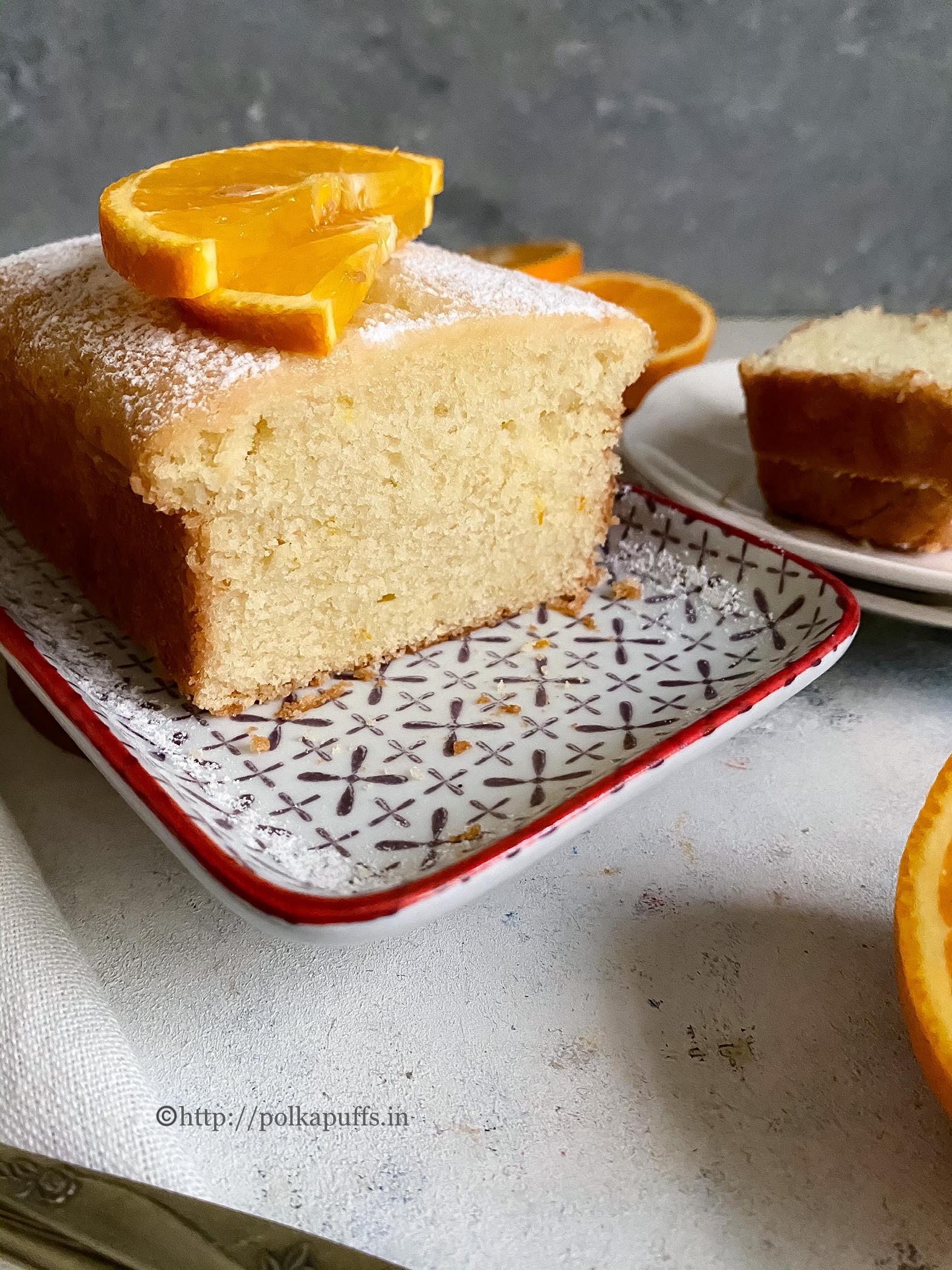 eggless orange cake Final 4