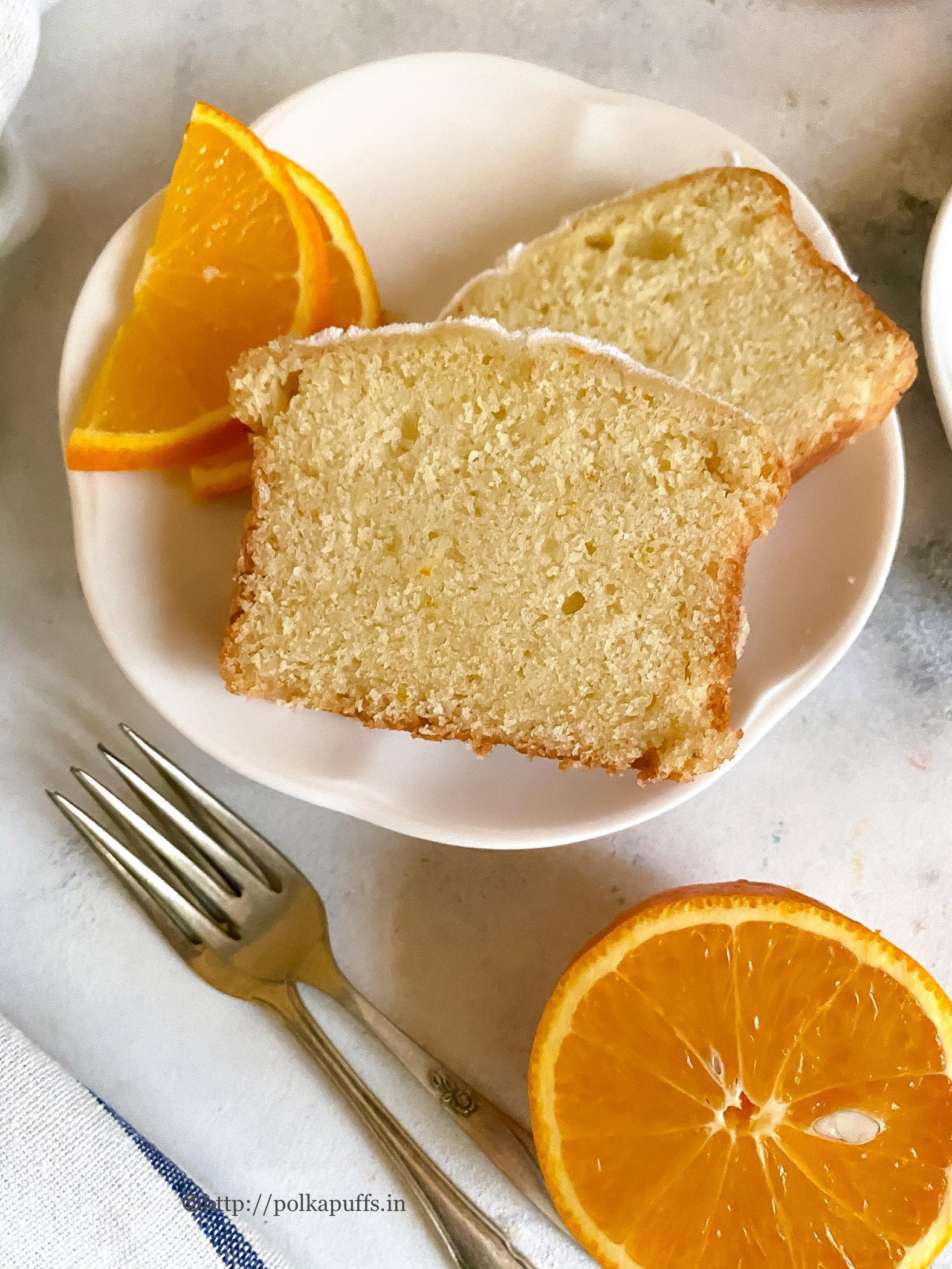 eggless orange cake Final 5