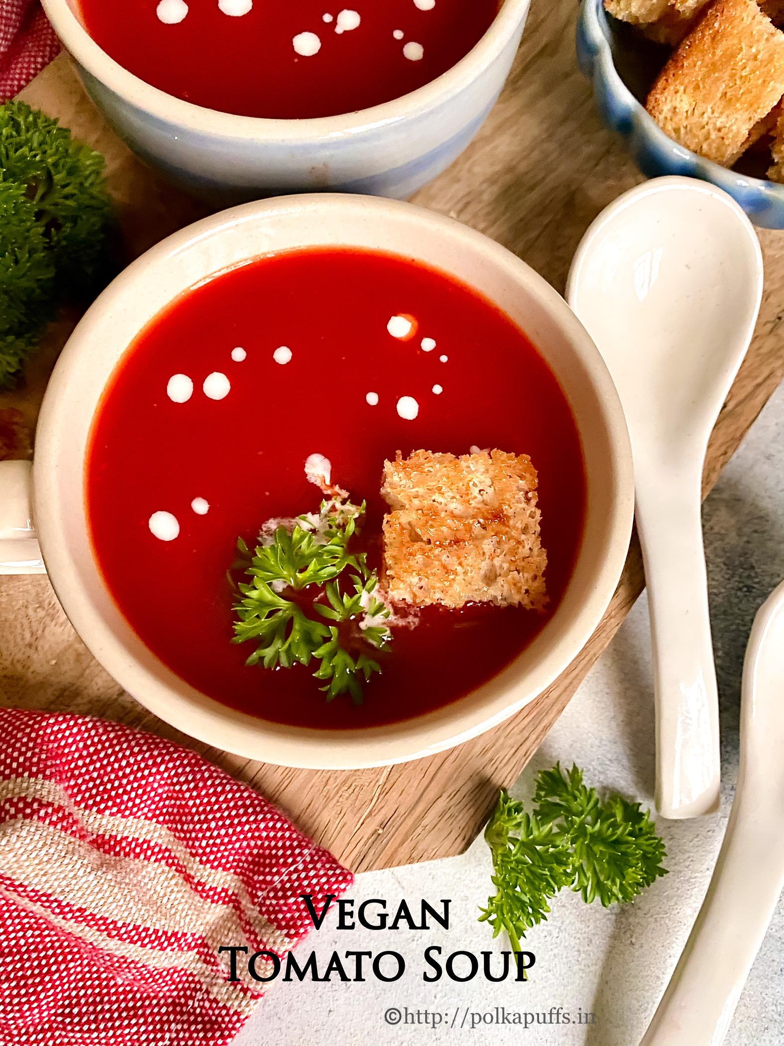 tomato soup vegan pinterest